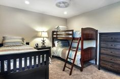 Bedroom 3 with twin bed, trundle and bunk bed. (Sleeps 4) :: San Clemente :: California