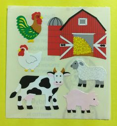 Mrs Grossman PIGS Stickers DISCONTINUED FARM PIGS