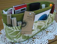 Purse Organizer Sewing Pattern Free | Purse Organizer Patterns – Images of Patterns