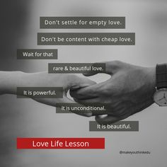 We all desire to love and to be loved. But don't let these desires cause you to settle for anything less than you deserve. Skills To Learn, Life Skills, Life Lessons, Putting Others First, Dont Settle, Beautiful Love, You Deserve, Love Life, Motivational Quotes