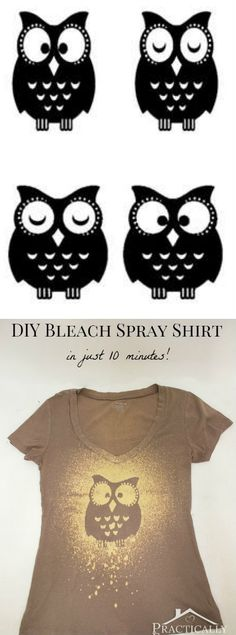 Bleach Spray Shirt