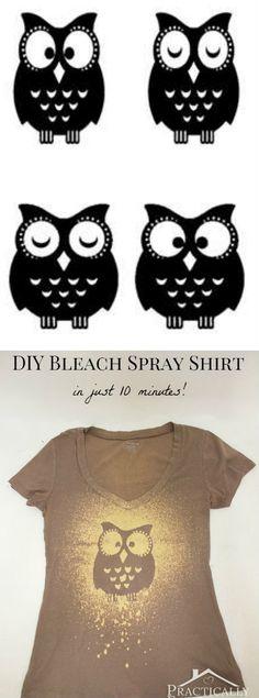 Bleach Spray Shirt