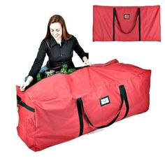 Xmas Tree Storage Bag With Handles Protective Zipper Closure Red Color Fabric Fits Tree Maximum Use eBook by BADA shop *** To view further for this item, visit the image link. Holiday Tree, Xmas Tree, Christmas Holidays, Storage Organization, Bag Storage, Christmas Tree Storage Bag, Red Color, Organize, Fabric