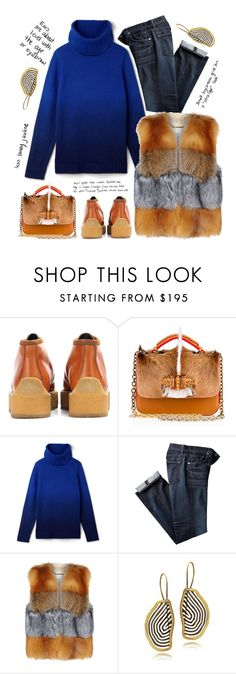"""""""Untitled #1917"""" by vinograd24 ❤ liked on Polyvore featuring STELLA McCARTNEY, Christian Louboutin, Lacoste, MICHAEL Michael Kors and IXOS"""