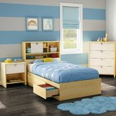 Found it at Wayfair - Cookie Twin Storage Bedroom Collection.  Possible bed for Bubba.