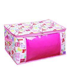 Look at this #zulilyfind! Owlphabet Storage Bag by Laura Ashley Home #zulilyfinds