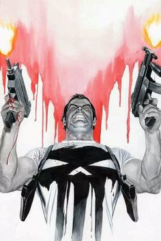 spyrale:  The Punisher by Alex Ross
