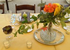 weddings using vintage silver containers - Google Search