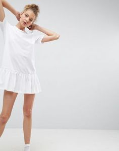T-shirt dresses are perfect to throw on for a casual day on the town