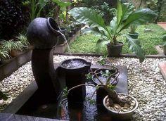 Fuente De Agua Casera Para Jardin