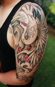 crane tattoo - Google zoeken