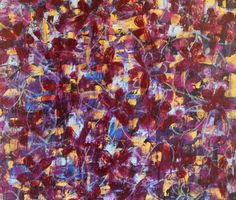 Mohammad- Large, Abstract, Original, Painting, Acrylic, Texture, Tapestry, Flower, Colorful, Red, Purple, Gold, Blue, Glitter, Pattern, Art