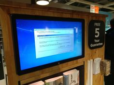 Meanwhile in Ikea where they still use Windows 7 #bsod #pbsod