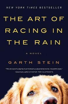 I first heard this book while driving across country - but only one day, because the next I was out of radio reach.  Needless to say - that was enough to make me want to read it!  This book is written in the voice of the family dog, Enzo, all he sees & feals. It's easy to get sucked in - even if you're not a dog person.