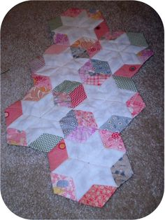 ProsperityStuff Quilts: Vintage English Paper Piecing ...
