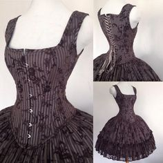 Linda Friesen corset set https://www.facebook.com/LINDAFRIESEN.couture/