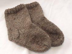 Items similar to Organic Merino Socks - Chocolate Brown on Etsy Cosy Socks, Warm Socks, Knitting Socks, Knitting Needles, Baby Knitting, Cool Kids Clothes, Kids Socks, Colorful Socks, Slipper Socks