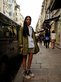 STYLE from TOKYO | street fashion based in japan: on the street...rue Saint-Honore. Paris.