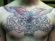 eagle chest tradi tattoo - Buscar con Google