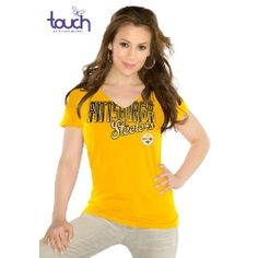 Touch by Alyssa Milano Pittsburgh Steelers Starter Tee