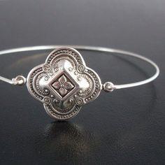 Medieval Bracelet Theme, Kaivana, Silver, Bohemian Style Jewelry, Stack Bangle Bracelet, Bohemian Stack Bracelet, Stacking, Bohemian Jewelry by FrostedWillow on Etsy https://www.etsy.com/listing/62778908/medieval-bracelet-theme-kaivana-silver