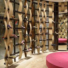 'Manolo Blahnik' shoe store by Nick Leith-Smith in Hong Kong - #Manolos #InteriorDesign #RetailDesign