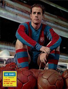Luis Suarez, CF Barcelona, 1960 Ballon d'Or winner.