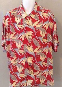 New Reyn Spooner Bird of Paradise Size XL 100 Rayon Short Sleeve Hawaiian Shirt | eBay