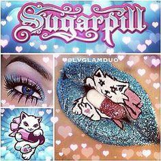 Sugarpill's pillkitty mascot!