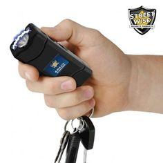 Keychain Stun Gun - SMACK 6,000,000 Volt Black Stun Gun