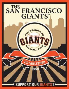 San Francisco Giants Speakman art http://sfbayhomes.com