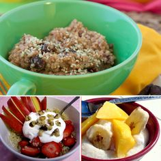 Hearty Whole Grains: It's What's For Breakfast