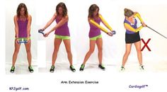 The distance your hands start at address from your shoulders, should remain constant throughout your golf swing. If your arms bend or come closer to you during your swing, you'll end up topping or even missing the ball. Ideally, you want your arms to extend as you strike the ball. Using a dumbbell can help … Continue reading How a Dumbbell Can Help Your Golf Swing →
