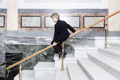 Nytænkning. »Jeg kan godt frygte, at den undervisning, der foregår i dag, vil betyde, at Danmark mister innovationskraft«, siger Kirsten Drotner. Foto: Peter Hove Olesen