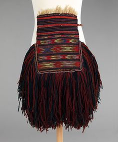 Apron,Date: first quarter 20th century Culture: probably Eastern European Medium: wool, metal The Metropolitan Museum of Art,1932