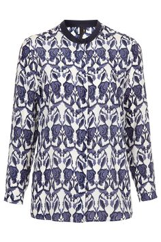 Silk Floral Buttoned Shirt by Boutique | Topshop