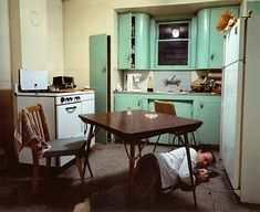 Jeff Wall - Insomnia.  My favorite photograph ever.