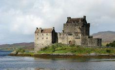 Замок Эйлен Донан   Eilean Donan Castle  Дорни / Хайленд
