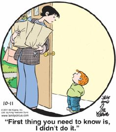 Family Circus cartoonist Bil Keane died at the age of 89 from congestive heart failure. Funny Comics For Kids, Funny Kids, The Funny, Family Circle, Love My Family, Cartoon Familie, Family Circus Cartoon, Classic Comics, Calvin And Hobbes