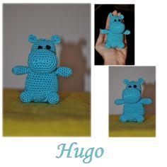 Hugo, hroch do dlaně Hugo, hippo in the loof