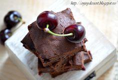 Cherry brownies ~ Enjoy Dessert!