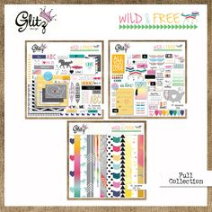 Wild+&+Free+is+a+dreamy+collection+full+of+feathers,+horses,+and+beautiful+colors+and+patterns!