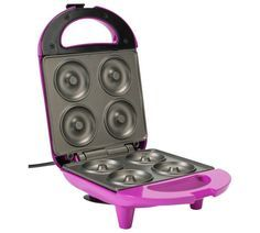 Buy Pretty Pink Donut Maker at Argos.co.uk - Your Online Shop for Party food makers, Small kitchen appliances, Kitchen electricals, Home and garden.