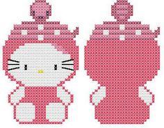 Llavero Hello Kitty Serpiente
