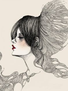 fashion illustration by Meo