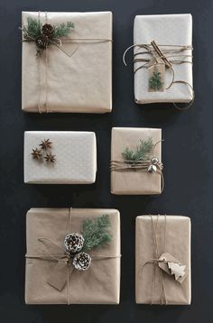 best photo presents wrapping ideas twine popular work : Christmas is actually here which means it is equally gift giving time. Out of expensive and speedy present wrapping ideas for you to 8 beautiful Chris. Christmas Gift Wrapping, Diy Christmas Gifts, Rustic Christmas, All Things Christmas, Winter Christmas, Holiday Gifts, Christmas Holidays, Modern Christmas, Christmas Ideas