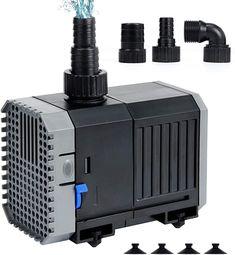 Qualitativ hochwertige teich Pumpe  Die Außenschale des Produkts besteht aus hochwertigem ABS-Kunststoff für einen effektiven Korrosionsschutz und einer verlängerten Produktlebensdauer. Mit Speziell konzipierter Durchflussregler zur Einstellung der Wasserdurchflusses (Auf der Seite der Pumpe befindet sich ein blauer Bewegungsregler, mit welchem die Durchflussrate nach oben oder unten geregelt werden kann.) Diese Teichpumpe in Größe 105 x 55 x 90mm ist klein und lässt sich bequem in die… Aquarium, Pumps, Montage, Audio, Music Instruments, Products, Plastic, Top, Human Height