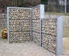 Stone Basket fence