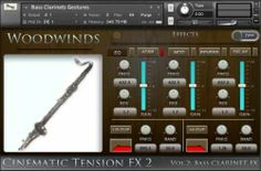 Cinematic Tension FX2 Vol.2 Bass Clarinets KONTAKT magesy.pro