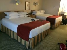The rooms at the Howard Johnson Anaheim